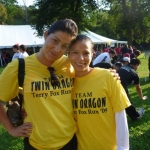 Twin Dragon East Kickboxing - Terry Fox Run 2009