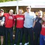 Twin Dragon East Kickboxing - Terry Fox Run 2010