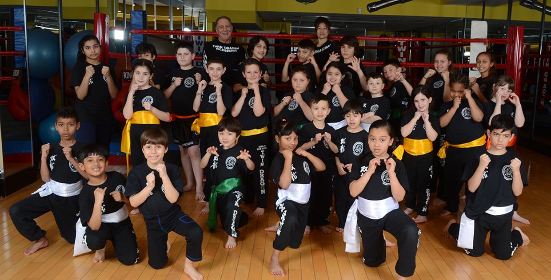 Twin Dragon East Kickboxing - KIDS