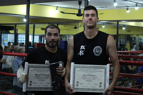 Twin Dragon East Kickboxing - Black Sash Grading 2017